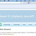 Getting started with vSphere API using VI Java