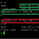 Want to delete VMDK file containing sensitive data?