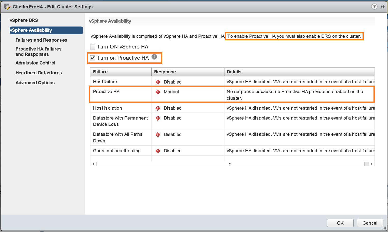 Tutorial: Part-1: How to configure & manage Proactive HA